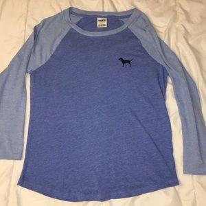 Dark/light blue PINK 3/4 sleeve
